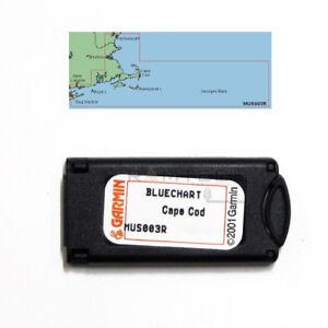 Garmin BlueChart Cape Cod MUS003R Data Card Marine Chart 010-C0017-00