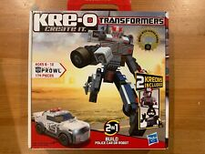 Kre-o Transformers – Prowl 2 in 1 *NEW-SEALED*