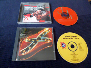 2xCD Primal Scream Give Out But Don't Give Up (1994) & XTRMNTR (2000) 22 Songs