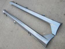 2009-2011 Side Skirts Skirt Ground Effects Under Body Kit Acura TL Borealis Blue