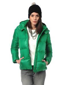 Adidas Originals duck down jacket G86240 women green fairway hooded
