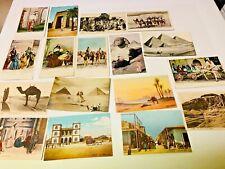 EGYPT   17  POSTCARDS  LOT 1
