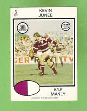 1975 Season Manly Sea Eagles NRL & Rugby League Trading Cards