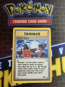 Naked Misty's Tears Banned Pokemon Trainer Card Art Custom Orica English Text