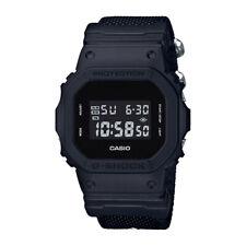 Casio G-SHOCK DW5600BBN-1 Military Black Cordura Nylon Strap Digital Men's Watch