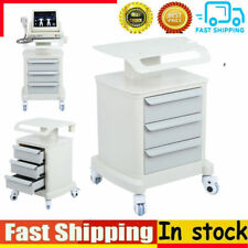 High Quality 3 Layer Rolling Trolley Barber Beauty Salon Storage Drawer Cart