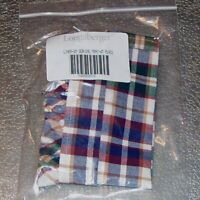 Longaberger Woven Traditions Plaid SMALL SERVING TRAY Basket Liner ~ USA ~ New!