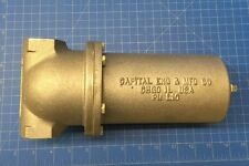 """1EA CAPITAL ENGINEERING L-10-M-100 SEDIMENT STRAINER 1"""" INLET/OUTLET #100 MESH A"""