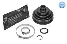 Faltenbalgsatz, Antriebswelle für Radantrieb Vorderachse MEYLE 100 498 0091/SK