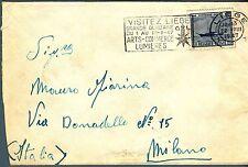 BELGIO/BELGIUM - 1946 - 100° del primo servizio postale Ostenda-Dover - 3,15 is.