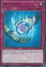 YU-GI-OH ULTRA RARE CARD: RELAY SOUL - DRL3-EN048 - 1st EDITION