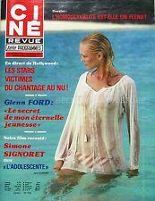 Ciné Revue n°1 - 1979 - Glenn Ford - Simone Signoret - Jacques Chazot -
