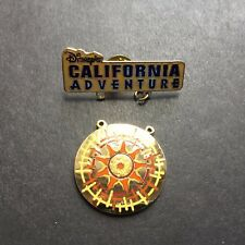 Disney Catalog - DCA Sun Wheel Logo Dangle Hat Set - Disney Pin 3727