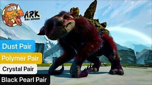ark pc pve level 1 Different Recourses Gacha Pair Dust, Black pearl,Crystal,Poly