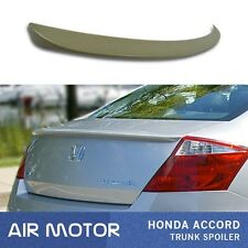 2008-2012 For Honda Accord Coupe 2D OE Type Rear Trunk Spoiler Wing Painted ABS