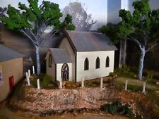 Ho scale building kit St Lukes Anglican Church from Chatsworth Nsw