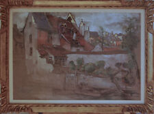 Dessins et lavis du XIXe siècle et avant signés XIXème et avant architecture
