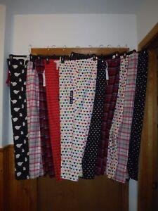 Gap Body Flannel Pajama Pants XL,L,M,S,Multi Color 100% cotton Elastic waist NWT