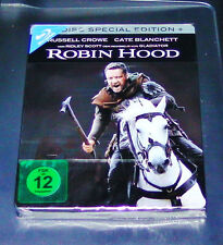 ROBIN HOOD 2 DISC SPECIAL STEELBOOK EDITION BLU-RAY FAST SHIPPING NEW & VINTAGE