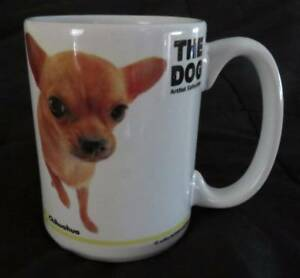 The Dog Artist Collection CHIHUAHUA Coffee Tea MUG Cup Cocoa Clean