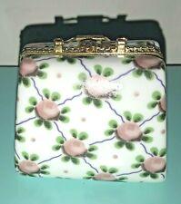 New Miniature Floral Pocketbook Flower Clasp Sale