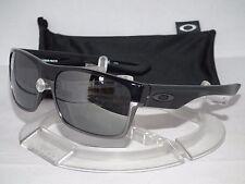 *NEW OAKLEY POLARIZED TWOFACE OO9189-01 Polished Black / Black Iridium Polarized