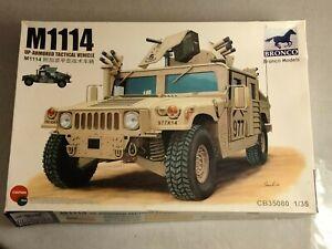 Bronco Models M1114 Up-Armored 1:35