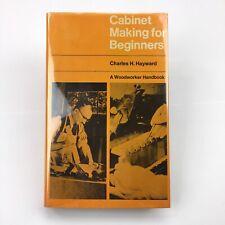 CABINET MAKING for Beginners, Charles Hayward - Woodworker Handbook Illustrated