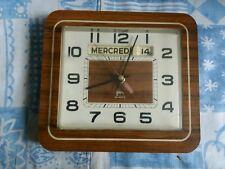 Horloge Dateur Formica Japy