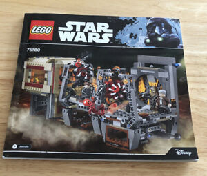 LEGO STAR WARS 75180 RATHTAR ESCAPE - Instruction Manual ONLY