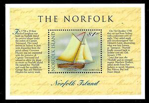 Norfolk Island Sc.#664, MNH -1998- THE NORFOLK Souvenir Sheet