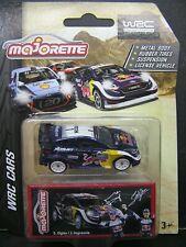 Majorette Metal DieCast model WRC car -  S.Ogier / J.Ingrassia