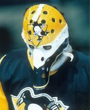 MICHEL DION VINTAGE GOALIE MASK NHL HOCKEY PITTSBURGH PENGUINS 8X10 PHOTO