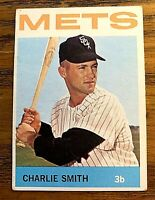 1964 Topps #519 Charlie Smith - Mets