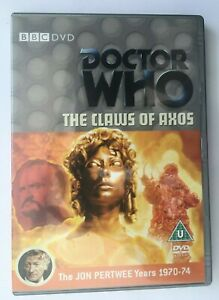 Doctor Who THE CLAWS OF AXOS Jon Pertwee Dr Who Years 1970-74 1 Disk Set