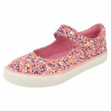 Girls Clarks Casual Flat Shoes 'Brill Gem'