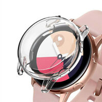 TPU Frame Cover Case Shell Screen Protector for Samsung Galaxy Watch Active 40mm