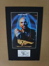 Goldie Genuine Autograph - UACC / AFTAL.