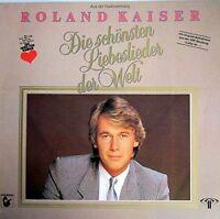 Roland Kaiser Die schönsten Liebeslieder der Welt (1985) [LP]