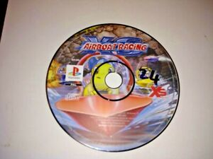 Playstation 1 (PSX 1) disk only XS Powerboat racing tested Working