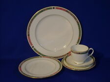PFALTZGRAFF BONE CHINA CABOUCHON 5 PIECE PLACE SETTING EXCELLENT CONDITION!