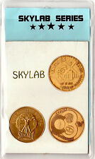 NASA Apollo Program Skylab Series Antique Bronze Minted Commemorative Set