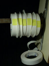 Six Rolls Intertape Double Coated Acrylic Tissue Tape  24mm x 55m Hand Tear USA!