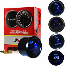 2'' 52mm Car Digital LED Oil Pressure/Oil Temp/Boost/Tachometer/Water Temp Gauge