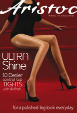 Aristoc Ultra Shine Control Top Tights Illusion Large