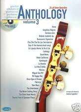 Guitarra Antología Libro De Partituras & Cd Vol 3 Nuevo Varios Estilos
