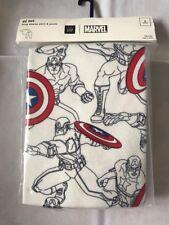 Boys Baby Gap Pajamas Snug Fit Sleepwear Green Navy 2T Captain America Sleepwear