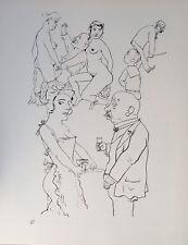 George Grosz Berlin Wine Nude Erotic Brothel Prostitute FREE ziagerette