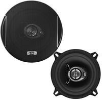 "NEW (2) 5.25"" Car Audio Speakers.Stereo Pair.5-1/4"" Basic Door Replacement.4 ohm"
