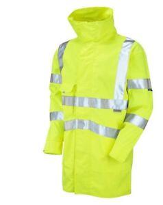 Leo Workwear Hi-Viz Yellow Anorak 1816i Size Large